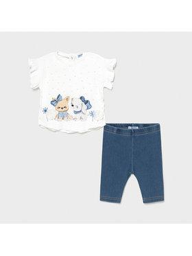 Mayoral Mayoral Set tricou și leggings 1709 Colorat Regular Fit