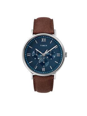 Timex Timex Ρολόι Southview TW2T35100 Καφέ