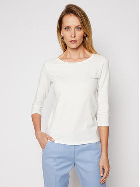 Weekend Max Mara Weekend Max Mara Блуза Multia 59710117 Бял Regular Fit
