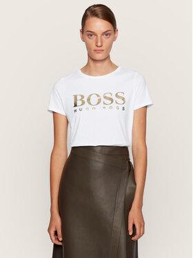 Boss Boss T-shirt C_Elogo 50436773 Blanc Regular Fit