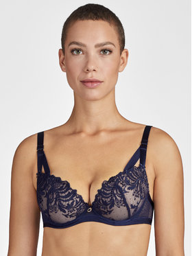 Aubade Aubade Reggiseno Push-up Femme Passion MI08-N Blu scuro