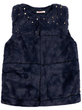 Billieblush Billieblush Γιλέκο U16218 Σκούρο μπλε Regular Fit