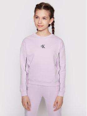 Calvin Klein Calvin Klein Džemperis Pipping Boxy IG0IG00754 Violetinė Regular Fit