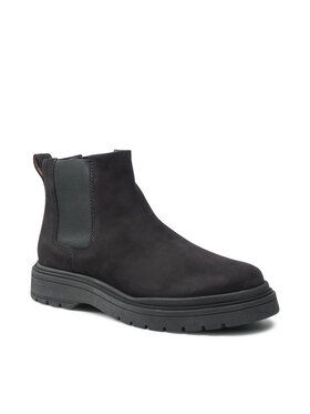 Badura Badura Členková obuv s elastickým prvkom MI08-C877-876-05 Čierna