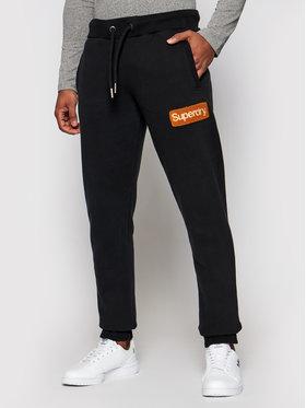Superdry Superdry Παντελόνι φόρμας Cl Workwear M7010552A Μαύρο Regular Fit