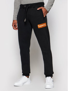 Superdry Superdry Spodnie dresowe Cl Workwear M7010552A Czarny Regular Fit