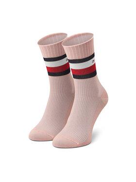 Tommy Hilfiger Tommy Hilfiger Hosszú női zokni 100002393 Rózsaszín