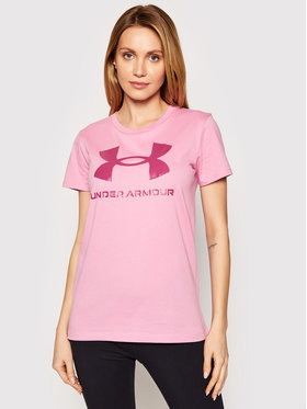 Under Armour Under Armour Tričko UA Sportstyle Graphic 1356305 Ružová Loose Fit