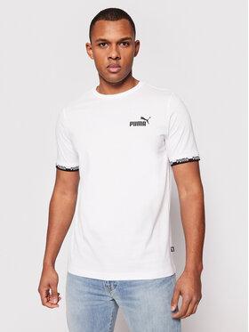 Puma Puma T-Shirt Amplified 585778 Bílá Regular Fit