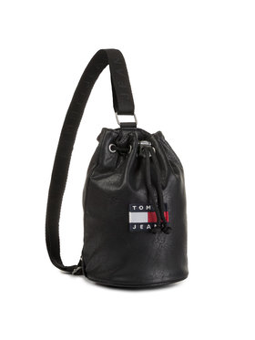Tommy Jeans Tommy Jeans Τσάντα Tjw Heritage Small Le Sling Bag AW0AW07335 Μαύρο