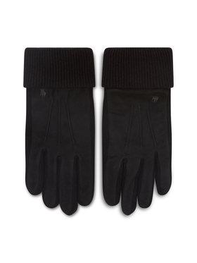 Polo Ralph Lauren Polo Ralph Lauren Γάντια Ανδρικά Suede Sandwich Glove 449833580001 Μαύρο