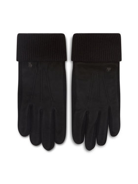 Polo Ralph Lauren Polo Ralph Lauren Muške rukavice Suede Sandwich Glove 449833580001 Crna