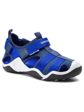 Geox Sandále J Wader A J9230A 01554 C4226 S Tmavomodrá