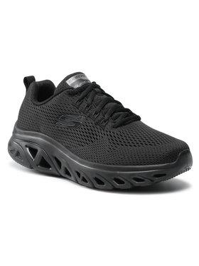 Skechers Skechers Sportcipő Wave Heat 232270/BBK Fekete