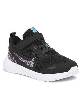 Nike Nike Cipő Revolution 5 Rabel (Tdv) CI2684 001 Fekete