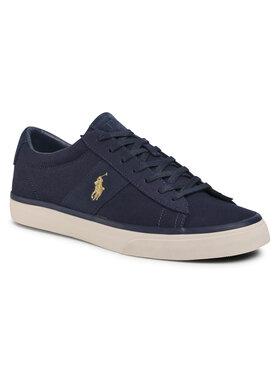 Polo Ralph Lauren Polo Ralph Lauren Sneakers aus Stoff Sayer 816749369009 Dunkelblau