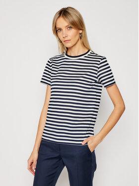 Marella Marella T-shirt Conico 39710111 Bijela Straight Fit