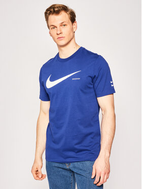 Nike Nike Póló Nsw Swoosh CK2252 Sötétkék Standard Fit