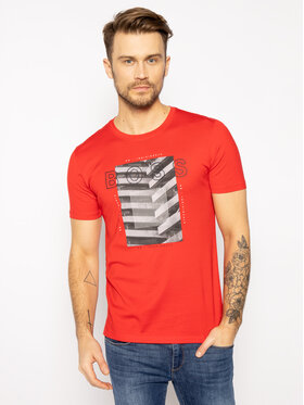 Boss Boss T-Shirt Tiburt 166 50427851 Červená Regular Fit