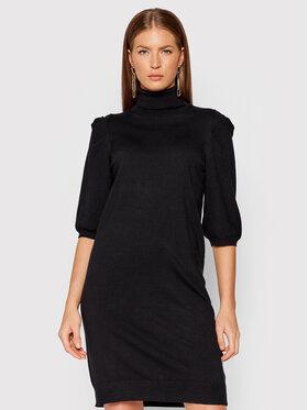 Liu Jo Liu Jo Džemper haljina WF1533 MA49I Crna Regular Fit