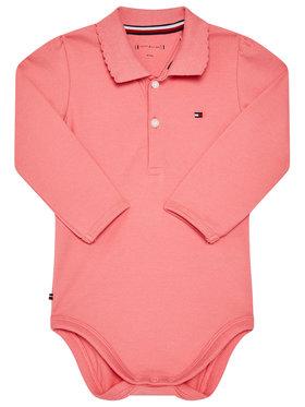 TOMMY HILFIGER TOMMY HILFIGER Κορμάκι παιδικό Gift Box KN0KN01176 Ροζ Regular Fit