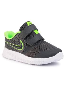 Nike Nike Topánky Star Runner 2 (Tdv) AT1803 004 Sivá