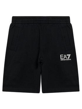 EA7 Emporio Armani EA7 Emporio Armani Szorty sportowe 3KBS51 BJ05Z 1200 Czarny Regular Fit