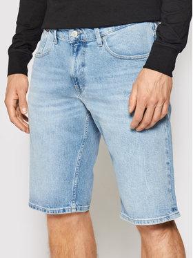 Tommy Jeans Tommy Jeans Džinsiniai šortai Ronnie DM0DM10555 Mėlyna Relaxed Fit