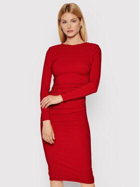Elisabetta Franchi Elisabetta Franchi Sukienka koktajlowa AB-008-16E2-V380 Czerwony Slim Fit