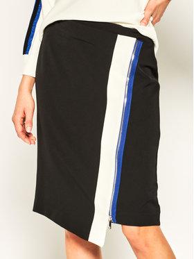 DKNY DKNY Spódnica trapezowa P0AN6ETF Czarny Regular Fit