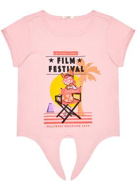 Billieblush Billieblush T-shirt U15852 Rose Regular Fit