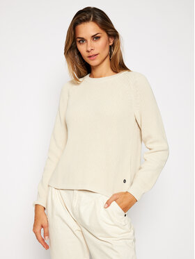 Calvin Klein Jeans Calvin Klein Jeans Sweter J20J214825 Beżowy Regular Fit