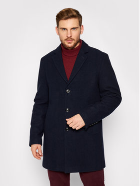 Pierre Cardin Pierre Cardin Vilnonis paltas 71780/000/4730 Tamsiai mėlyna Regular Fit
