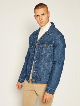 Lee Lee Giacca di jeans Rider L89ZGAKE Blu scuro Regular Fit