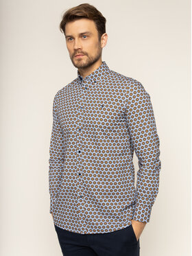 Trussardi Trussardi Риза Sequoia 52C00131 Цветен Regular Fit