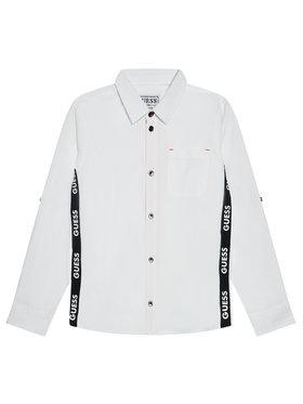 Guess Guess Πουκάμισο N1RH01 WDLI0 Λευκό Regular Fit
