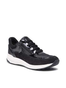 Geox Geox Sneakers D Airell A D152SA 022AS C9999 Noir