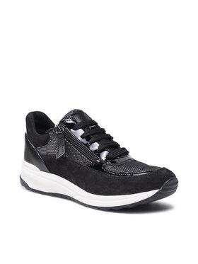 Geox Geox Sneakersy D Airell A D152SA 022AS C9999 Čierna