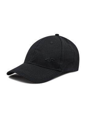 4F 4F Καπέλο Jockey H4L21-CAM005 Μαύρο