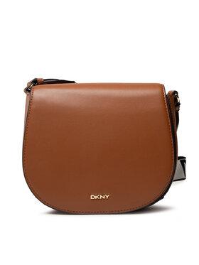 DKNY DKNY Handtasche Winonna Saddle Bag R12EKM64 Braun