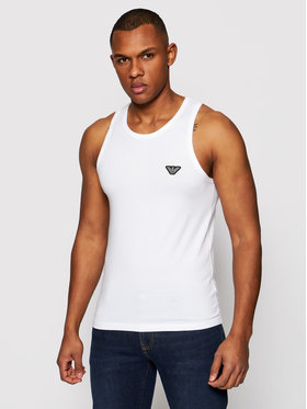 Emporio Armani Underwear Emporio Armani Underwear Tank top 110828 1P512 00010 Biały Regular Fit