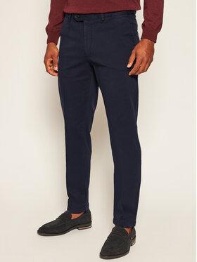 Oscar Jacobson Oscar Jacobson Pantaloni din material Danwick 5176 4305 Bleumarin Slim Fit