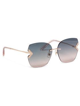 Swarovski Swarovski Okulary przeciwsłoneczne SK0306-H/S Różowy