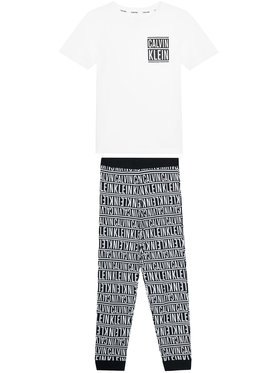 Calvin Klein Underwear Calvin Klein Underwear Piżama B70B700278 Biały