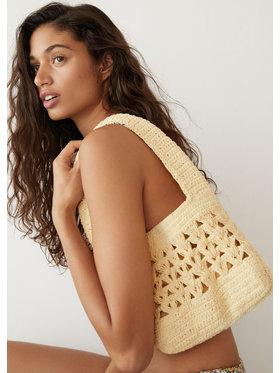 Mango Mango Geantă Crochet 87075633 Galben