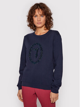 Trussardi Trussardi Sweatshirt 56F00169 Dunkelblau Regular Fit