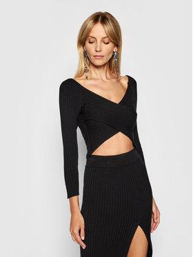 Kontatto Kontatto Sweater 3M7257 Fekete Slim Fit