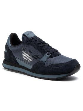 Emporio Armani Emporio Armani Sneakers X4X215 XL198 N060 Bleumarin