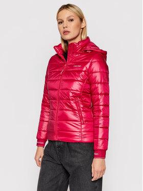 Calvin Klein Calvin Klein Pūkinė striukė Essential K20K202994 Rožinė Regular Fit