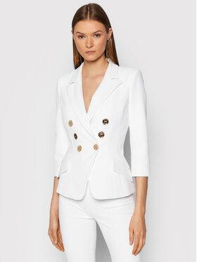 Elisabetta Franchi Elisabetta Franchi Σακάκι GI-971-16E2-V500 Λευκό Slim Fit